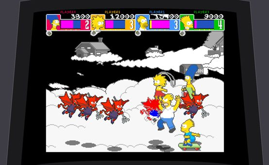 Woo-hoo! The Simpsons: Arcade Game Hits PSN Tomorrow