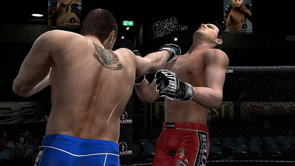 Bellator MMA Onslaught: Building a More Accessible MMA Fighting Game
