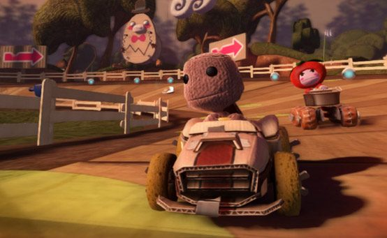 Sack it to Me: Sackboy Starts in Pole Position!