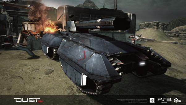 DUST 514: New Vehicle Roles and Characteristics