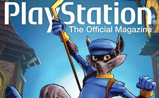 Sly Cooper Steals the Cover of PlayStation: The Official Magazine