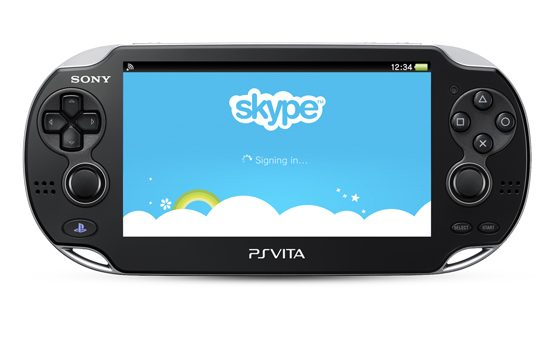 PS Vita Gets Skype Video and Voice Calling Today