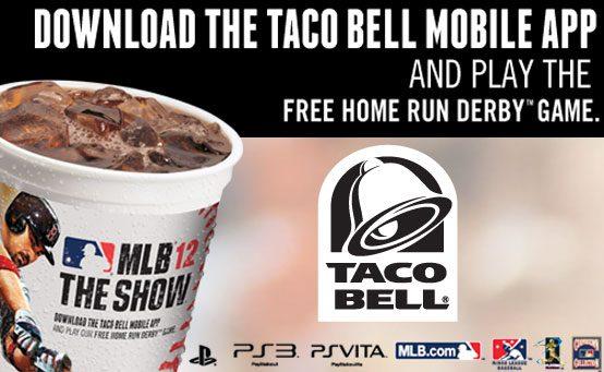 MLB 12 The Show: Taco Bell Unlocks Home Run Derby Online Mode