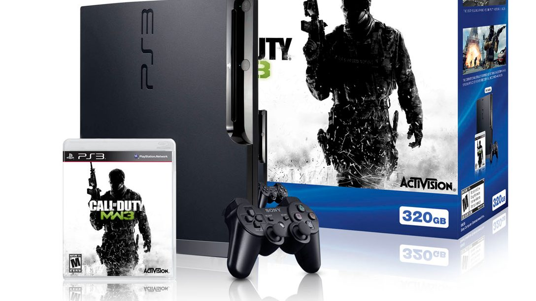 Limited Edition PS3 Call of Duty: Modern Warfare 3 Bundle Coming Soon