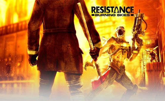"Celebrate The Fallen – Resistance: Burning Skies ""Memorial"" Trailer"