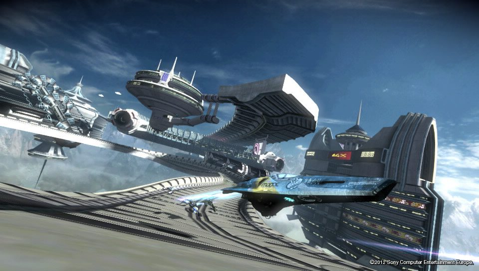 Two WipEout 2048 DLC Packs on PSN Today