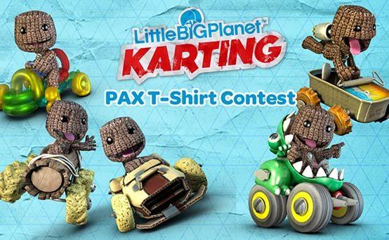 Contest: Design LittleBigPlanet Karting T-Shirt For PAX Prime