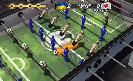 Foosball 2012 Flipping on to PS3 and PS Vita Next Tuesday