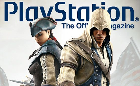 Assassins Unite on PlayStation: The Official Magazine's September Cover