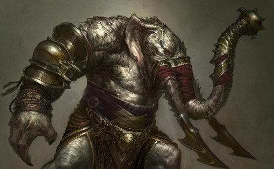 The Monsters of God of War: Ascension – The Elephantaur