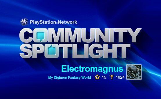 PSN Community Spotlight – My Digimon Fantasy World