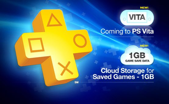 PlayStation Plus Coming to PS Vita, Online Game Save Storage Getting Upgraded