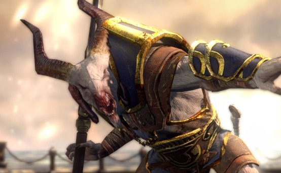 The Monsters of God of War: Ascension — The Satyr Captain