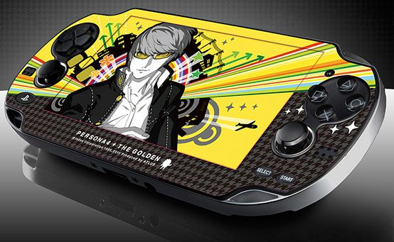 Cover Your PS Vita in Persona 4 Golden (But Only If You Pre-Order)