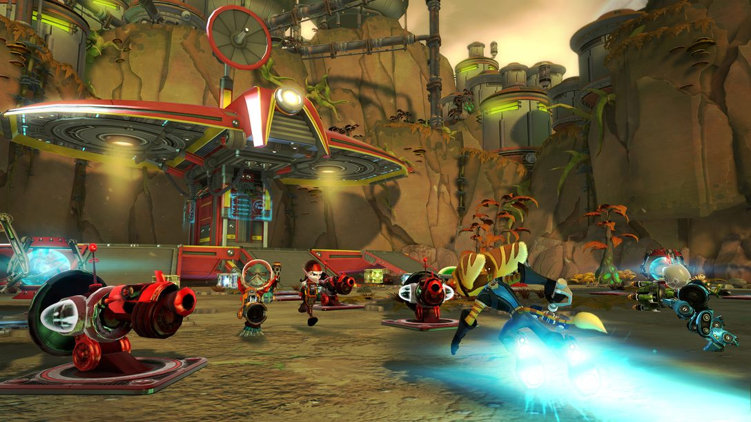 Ratchet & Clank: QForce Unzips PS Vita Support And Competitive Mode