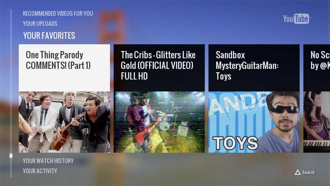 YouTube App for PS3 Lands Today