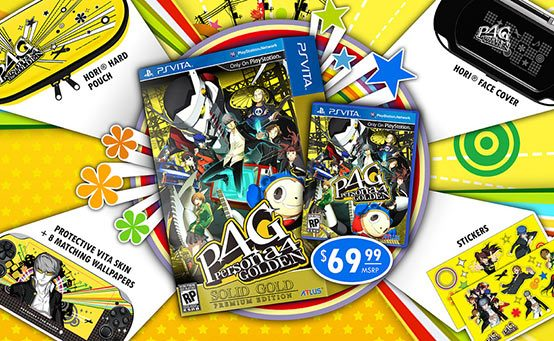 Persona 4 Golden: Solid Gold Premium Edition