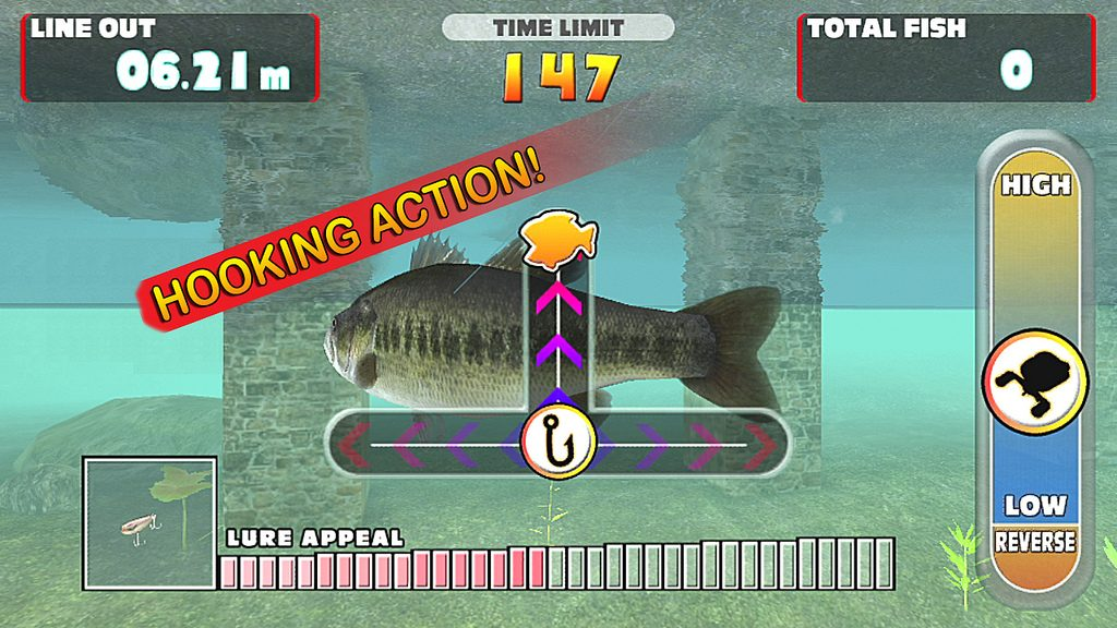 Let's Fish! Hooked On Aims To Reel In Vita Gamers
