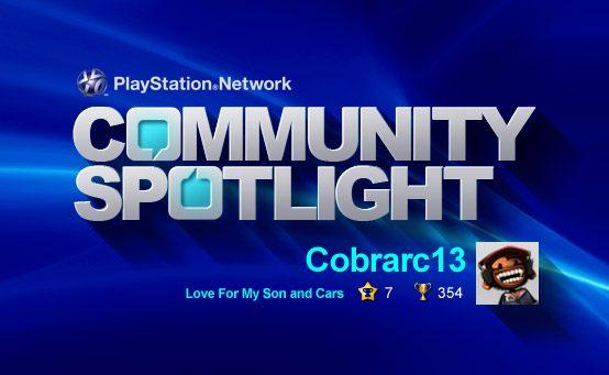 PSN Community Spotlight – Love For My Son and Cars