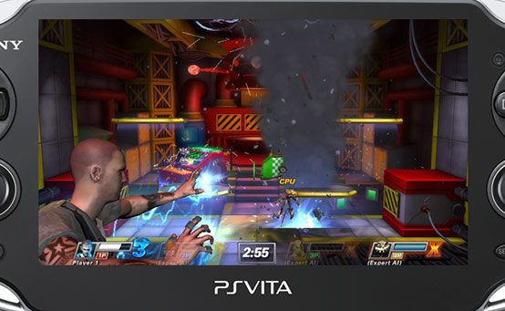 PlayStation All-Stars on PS Vita Puts the Fight in Your Pocket