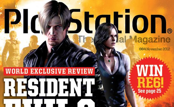 Resident Evil 6 Reviewed in November PlayStation: The Official Magazine