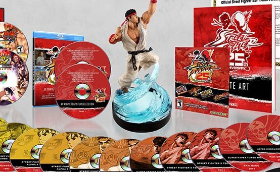 Street Fighter 25th Anniversary Collector's Set Has Tons of Extra Content on PS3