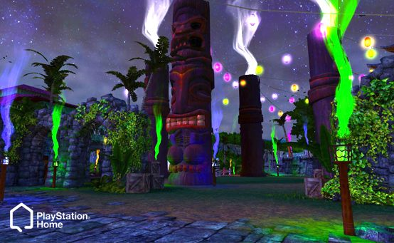 Monster Halloween Bash in PlayStation Home