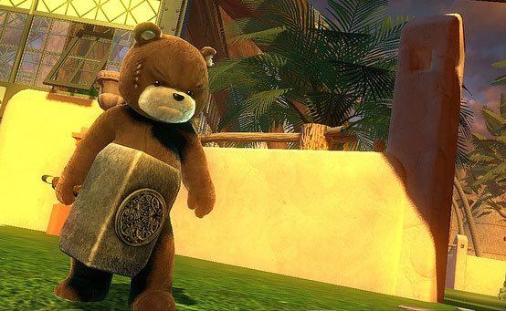 Naughty Bear Panic in Paradise Hits PSN October 9th