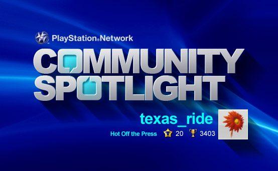 PSN Community Spotlight