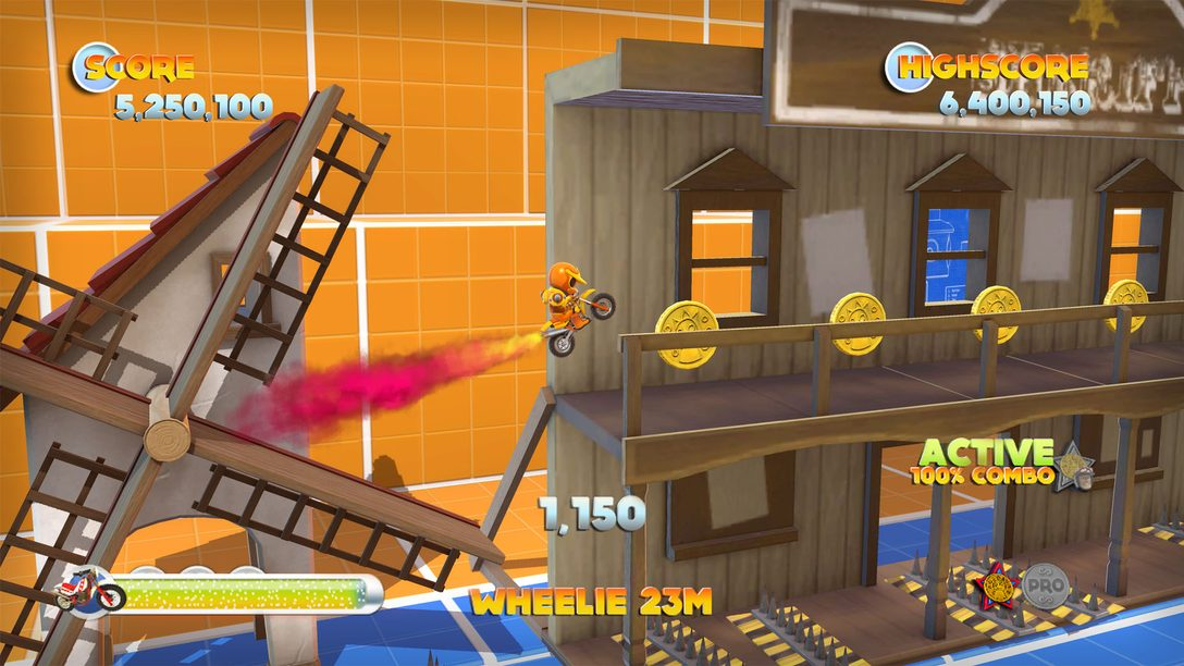 Joe Danger 2 on PS3 October 9th with Exclusive Content