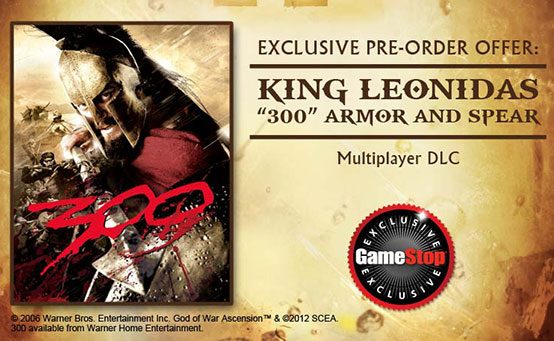 UPDATE: GameStop Gets Exclusive God of War: Ascension Pre-Order Items