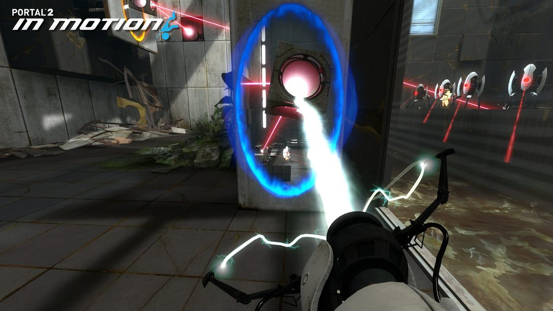 Portal 2 In Motion DLC coming to PlayStation Move next week