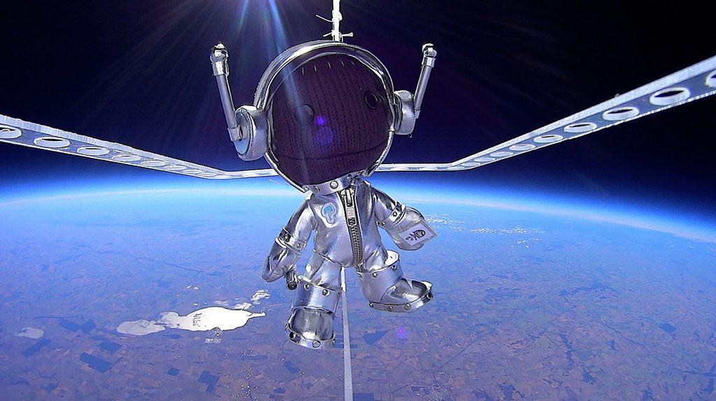 Sackboy's Near Space adventure