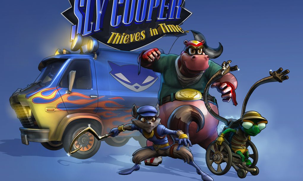 Turn your PS Vita into X-ray goggles with Sly Cooper: Thieves in Time!