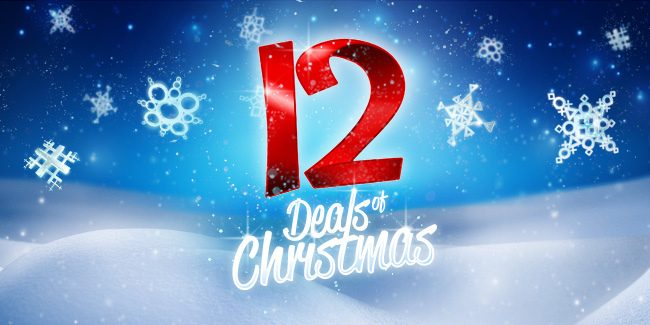 The 12 Deals of Christmas!