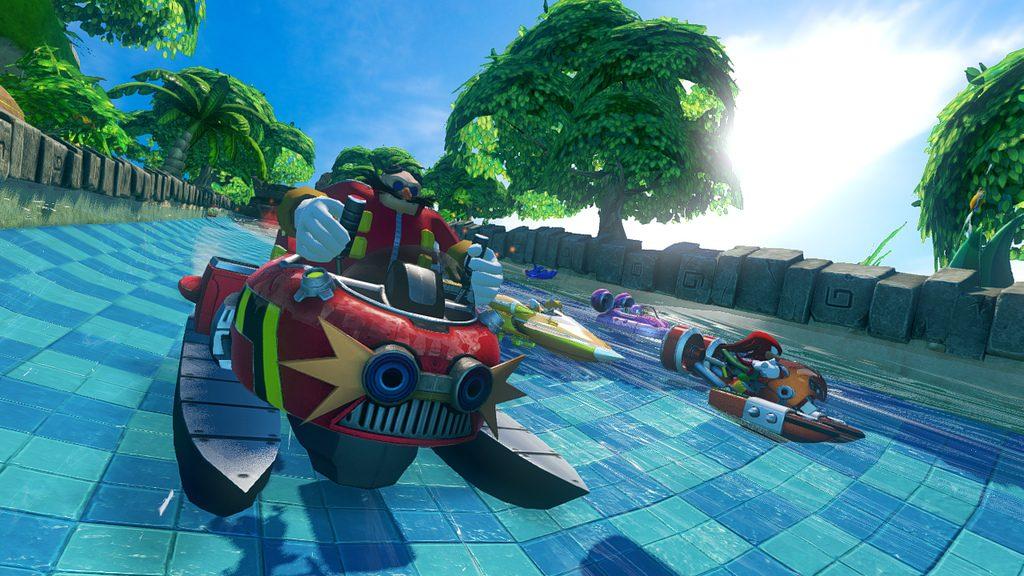 Sonic & All-Stars Racing Hits PS Vita Today, Nab Bonus DLC