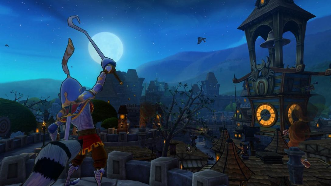 Check out the new story trailer for Sly Cooper: Thieves in Time