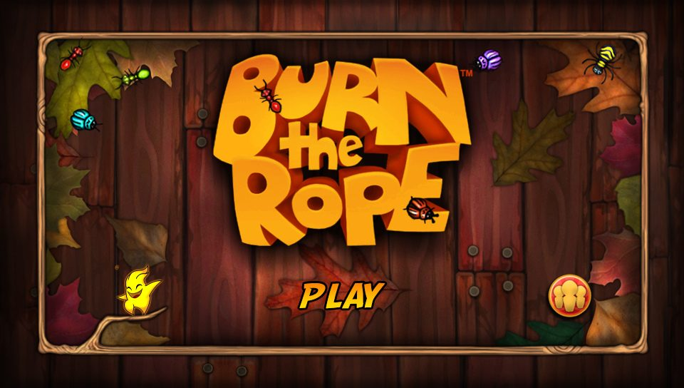 Addictive Puzzler Burn the Rope Singes PS Vita Today