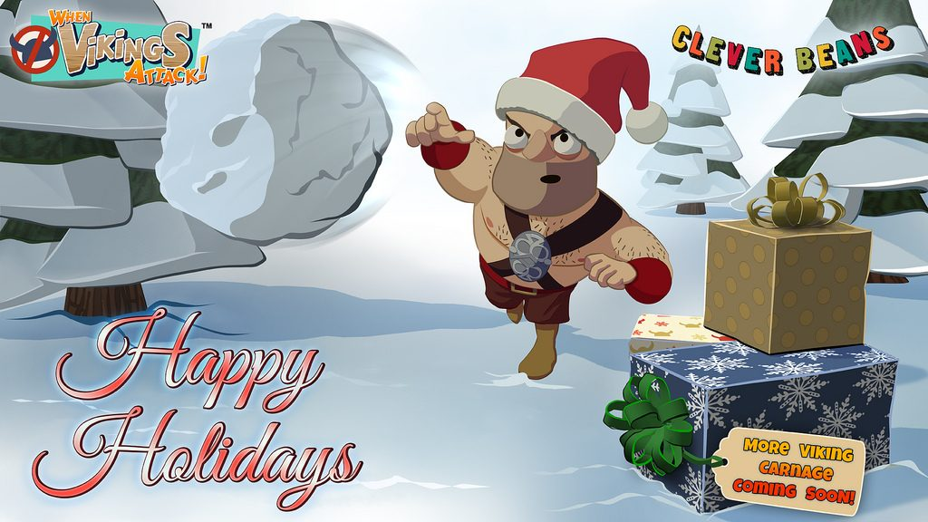 Happy Christmas from the When Vikings Attack! Team