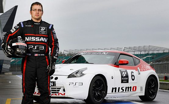 Steve Doherty is the 2012 GT Academy US Champion