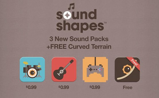 Sound Shapes: New Composing Tools DLC Out Today