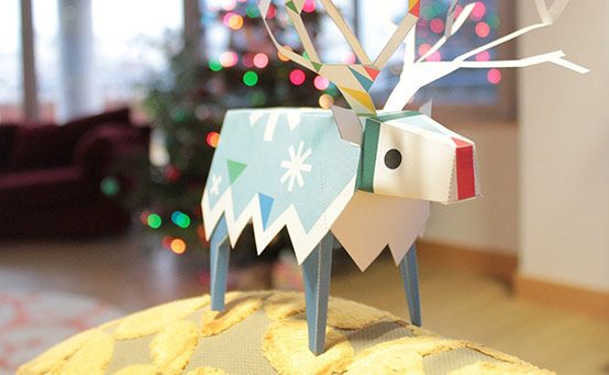 A Very Tearaway Christmas: Make Your Own Papercraft Reindeer