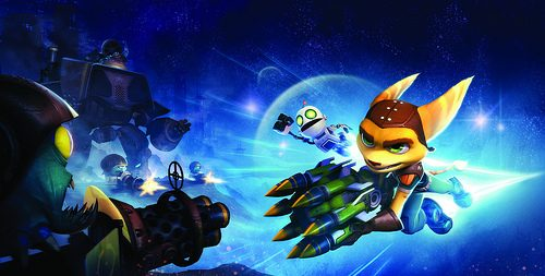 Ratchet & Clank: QForce PS Vita update