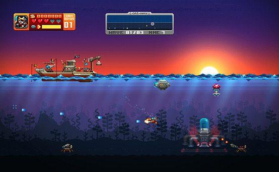 Aqua Kitty: Milk Mine Defender Free This Week on PlayStation Mobile
