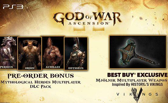 Buy God of War: Ascension at Best Buy, Get Mjölnir DLC