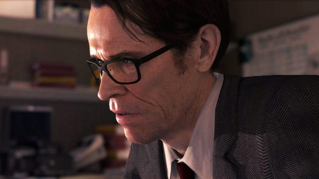 Willem Dafoe to star alongside Ellen Page in BEYOND: Two Souls
