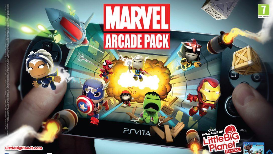 LittleBigPlanet PS Vita's Marvel Arcade Pack lands next week