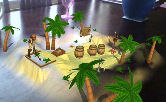 Table Mini Golf Putts to PS Vita on April 9th