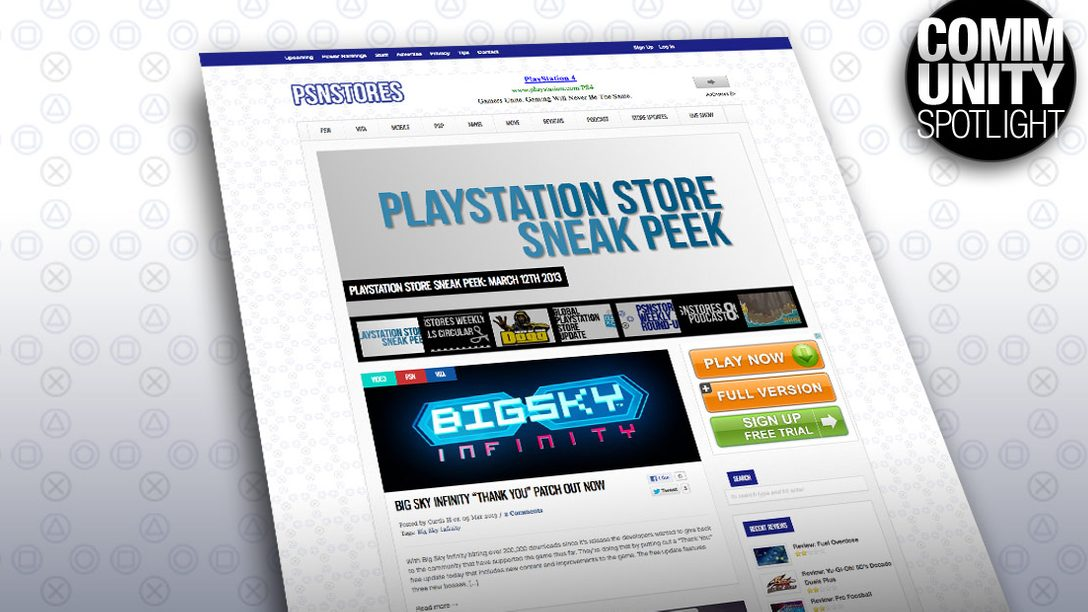 PSN Community Update: A Chat with PSNStores.com