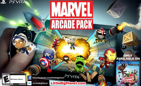 Sack it to Me: Marvel Heroes Come to LittleBigPlanet PS Vita